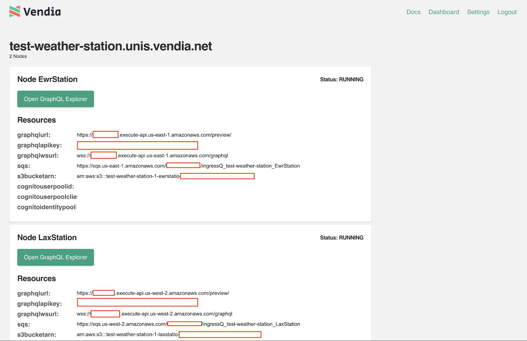 Weather Station Uni Page